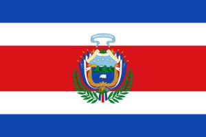 Drapeau du Costa Rica 1848