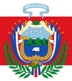 Armoiries du Drapeau du Costa Rica 1906