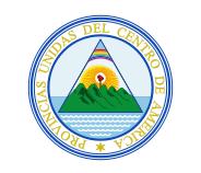 Détails du centre du drapeau du Costa Rica