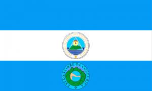 Drapeau du Costa Rica 1824