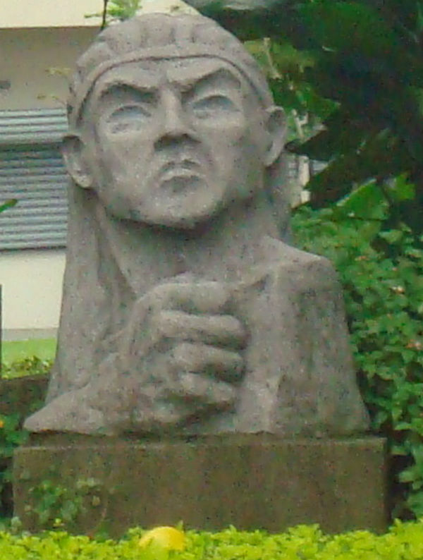 Statue de Garabito à San José