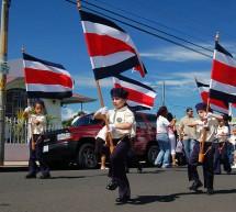 Fête Nationale de l'Indépendance du Costa Rica le 15 Septembre