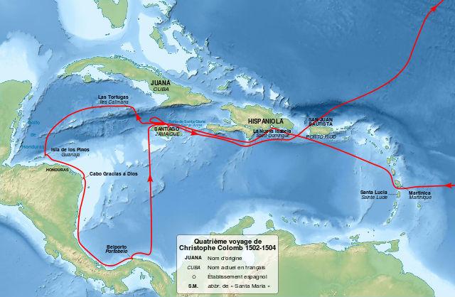 Dernier voyage de Christophe Colomb