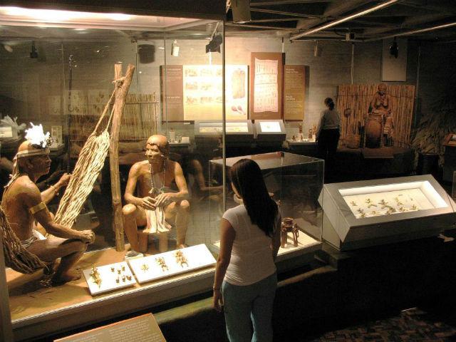 Salle du Museo del Oro Precolombino