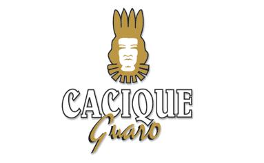 Logo tête d'Indien du Guaro Cacique
