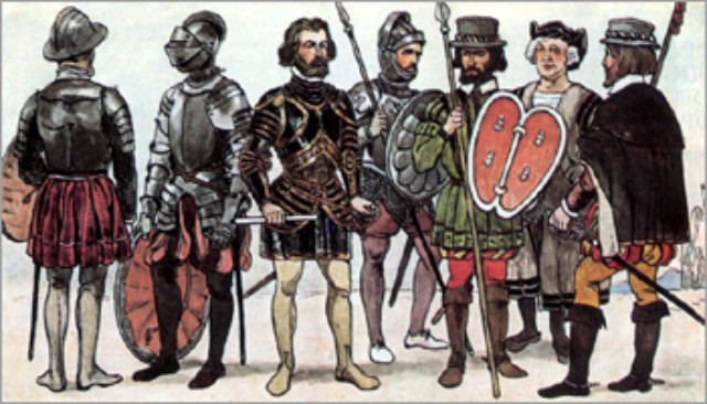 Conquistadors espagnols