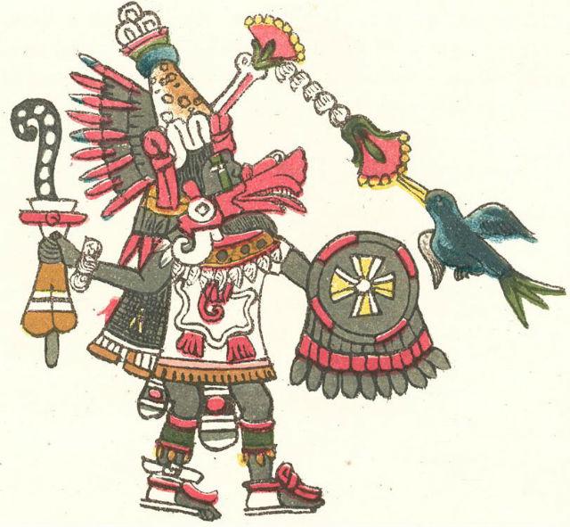 Représentation du Quetzalcoatl