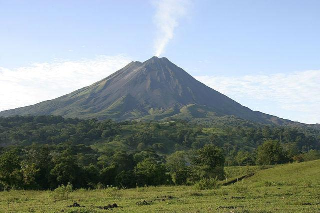 Photo du Volcan Arenal dans la Province Alajuela
