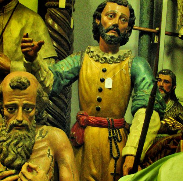 Statues religieuses du musée National du Costa Rica