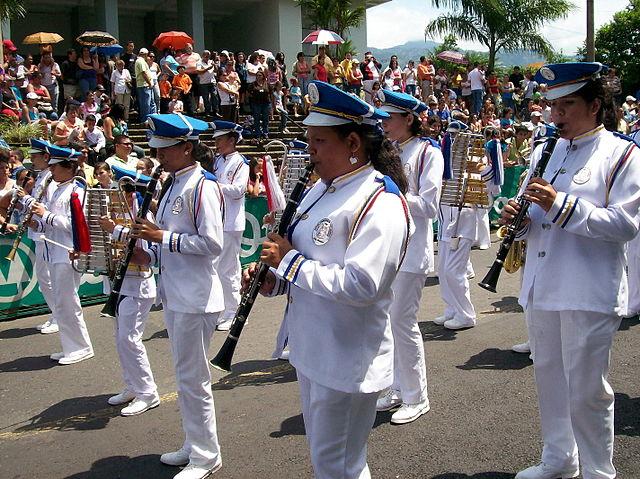 Photo Dia de la Raza au Costa Rica