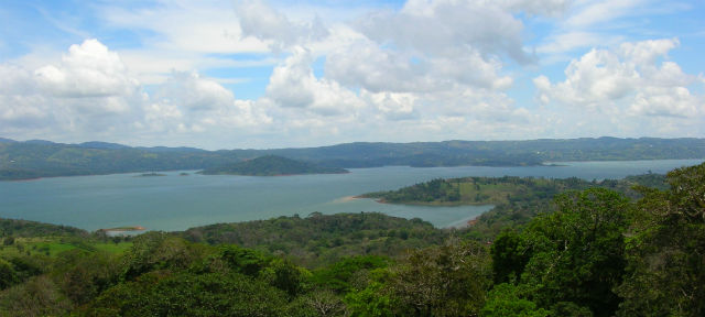 photo du Lac Arenal dans le Guanacaste