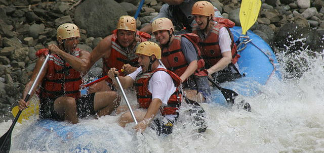Photo de rafting dans le Guanacaste