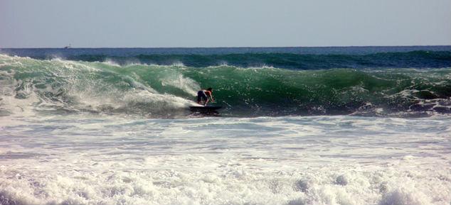 Phot de surf a Playa Grande au Costa Rica