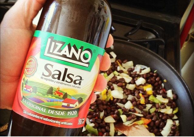 Bouteille de Salsa Lizano