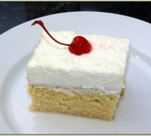 Recette Gâteau Tres Leches, dessert du Costa Rica