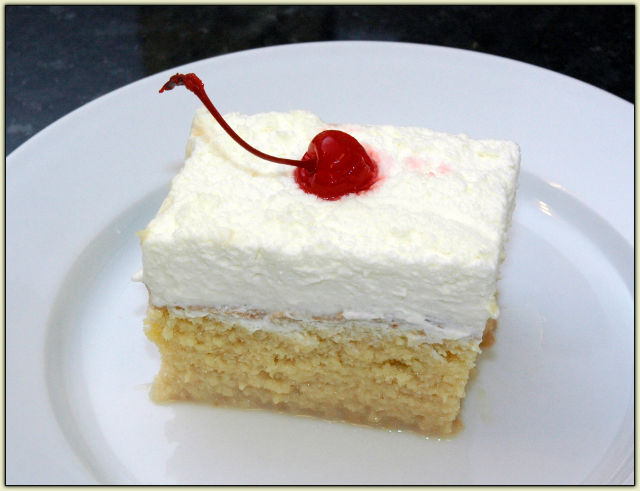 Photo Gateau Tres Leche