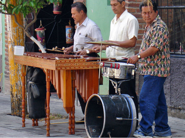 photo de marimba
